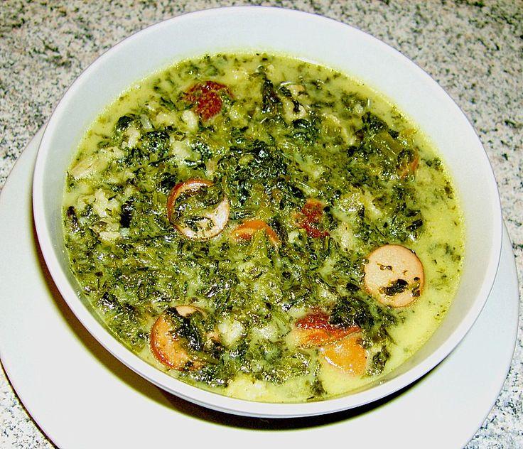 Grünkohl - Käse - Suppe