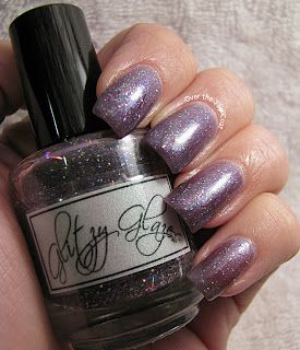 Glitzy Glazes - The Castle Started Spinning - swatched - $8 + s/h