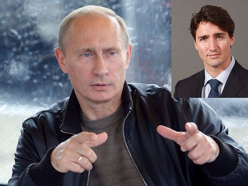 JUSTIN TRUDEAU | Flickr - et Vladimir Putin http://www.flickr.com/photos/lestudio1/12793947233/