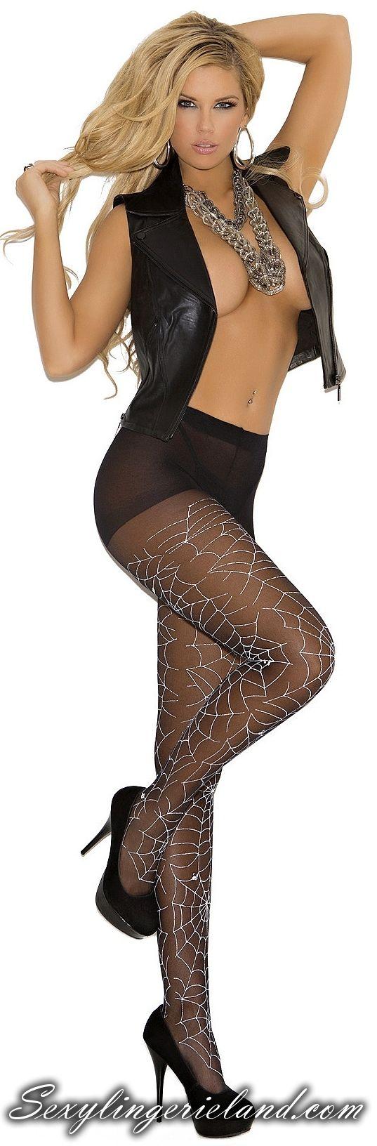 Pattern Sheer Pantyhose Quick Look 90