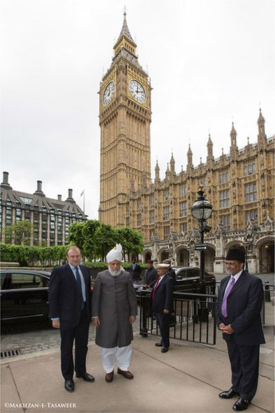 Historic Reception - at Houses of Parliament to Celebrate Ahmadiyya Muslim Jamaat UK Centenary