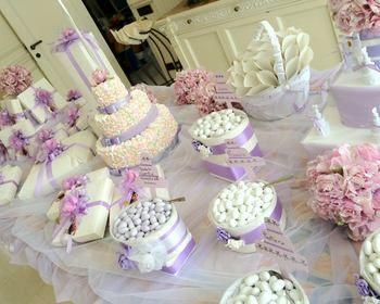 Oltre 25 fantastiche idee su decorazioni tavola per - Confettata matrimonio a casa ...