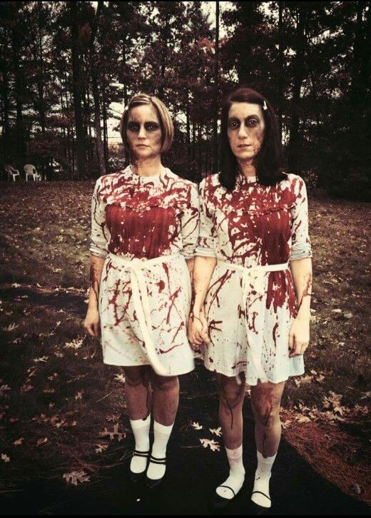 best friend halloween costume grady twins the shining - The Shining Halloween
