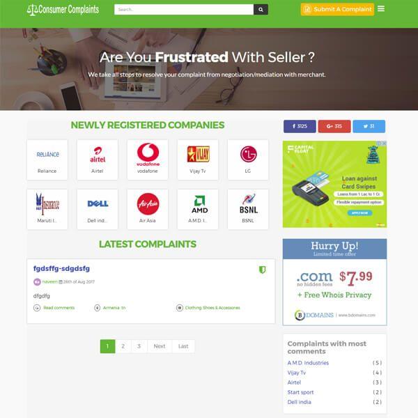 Trustpilot Clone Script Glassdoor Clone Script Cnet Clone Script With Images Business Reviews Free Ads Business Website