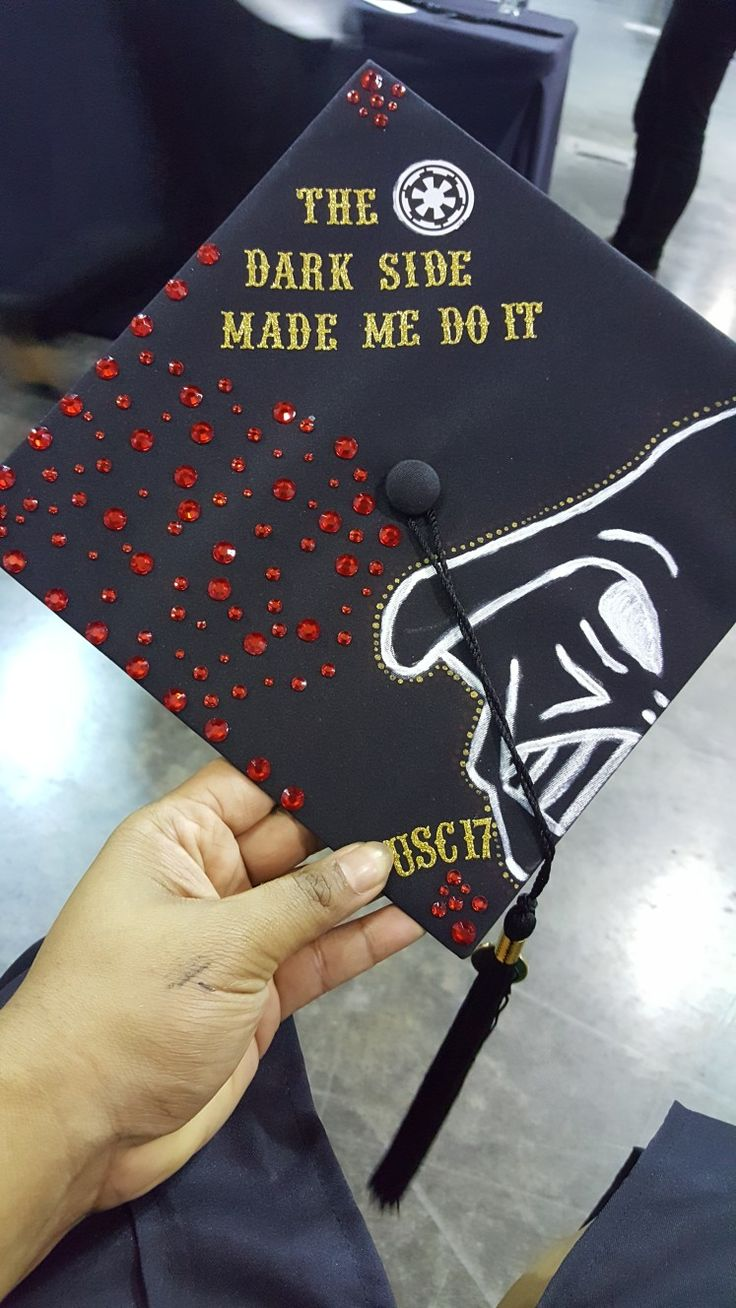 The dark side made me do it... B.A. done ✔ #birrete #graduationcap