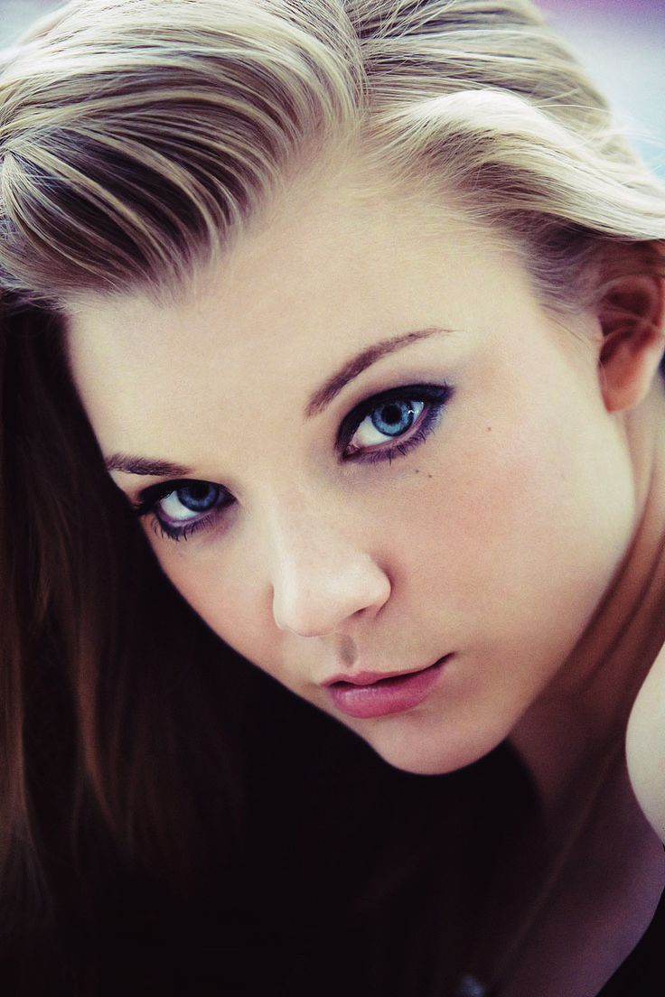 #Aquarius Natalie Dormer's piercing blue eyes make her look out of this world, much like Aquarians themselves