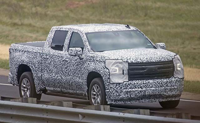 New 2019 Chevy Silverado Debuts With Diesel Engine 450 Lbs