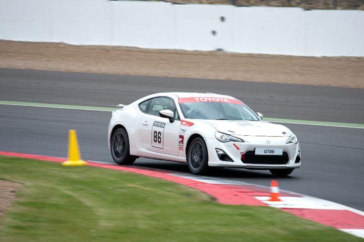 A race-spec GT86