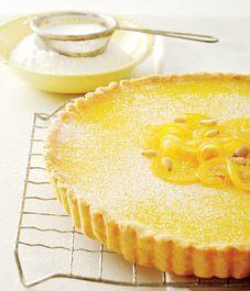 Recipe: Meyer lemon pine nut tart | Treats & Desserts | Pinterest
