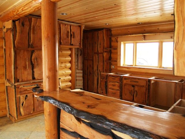 Kitchen Cabinets Rustic Style 31 best log cabin ideas for our house!!! images on pinterest