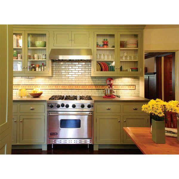 Green Cabinet Kitchen: 25+ Best Ideas About Bungalow Kitchen On Pinterest