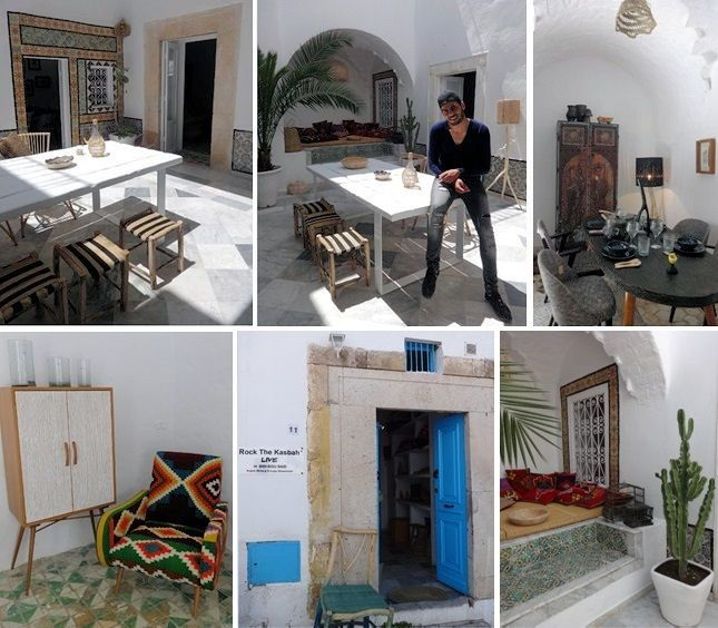 Rock the kasbah 11 rue habib thameur sidi bou said tel 20898645 the creator behind the - Rock the kasbah deco ...