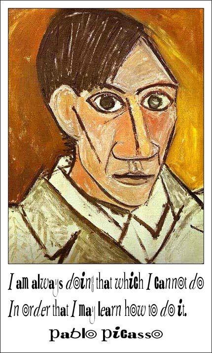 picasso self portrait - Google Search