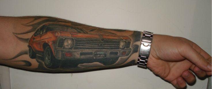 tattoos of cars chevy car tattooschevy nova tattoo car tattoos pinterest atngtpxm projects. Black Bedroom Furniture Sets. Home Design Ideas