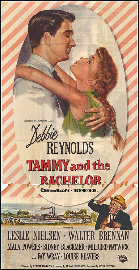 Tammy and the Bachelor {1957} I'm named after these movies. In one movie someone asks the grandfather about Tammy's name. He replies its actually Tambrey. Voila. My name. :)