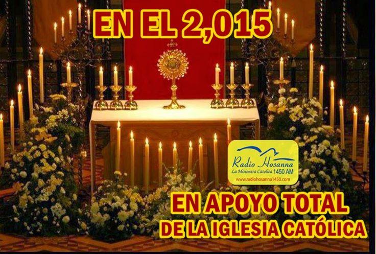 Radio Hosanna 1450 AM.  La Misionera.: Asociación Católica Hosanna le informa:...