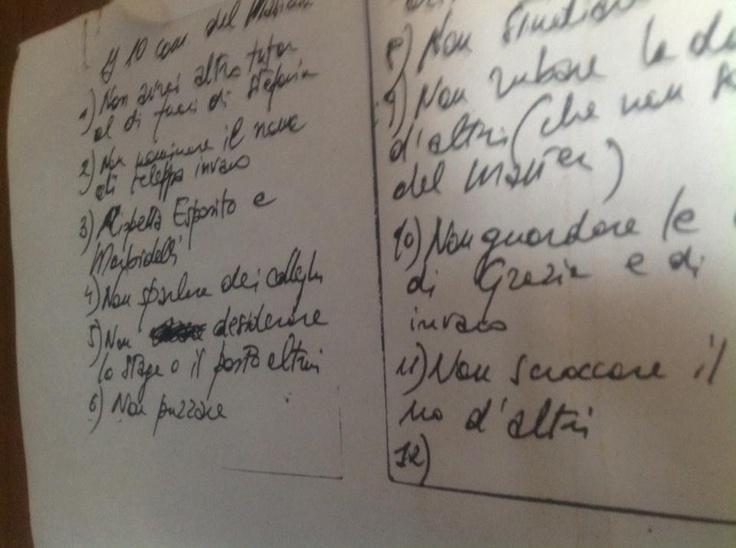 foto dall'archivio storico della Coco: 10 comandamenti del master.. Primo: non avrai altro tutor al di fuori di Stefania...