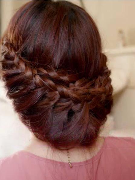 coiffure mariage tresse facile de princesse