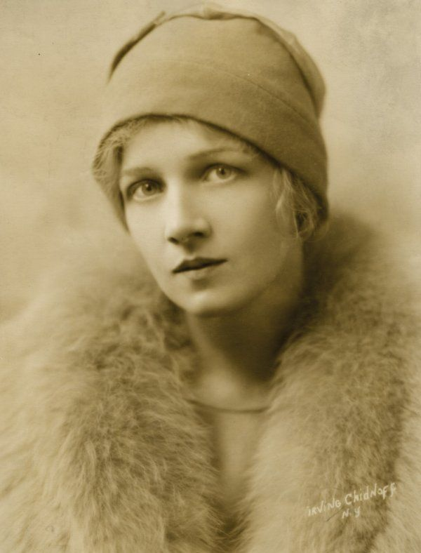 Anita Page in the late 1920's (1910-2008). American film actress who reached stardom in the last years of the silent film era.