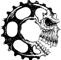 "Just a car guy : ""System Of A Downhill"" team logo of a mountain bike team from Laguna Niguel in the 2004 24 Hours of Temecula"