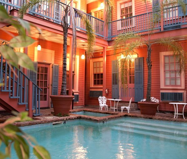 The Frenchmen Hotel is close to Frenchmen St - A great value and a unique New Orleans experience about a block or less off of the French Quarter. Walking distance to everywhere in the French Quarter. New Hotel Project Designs