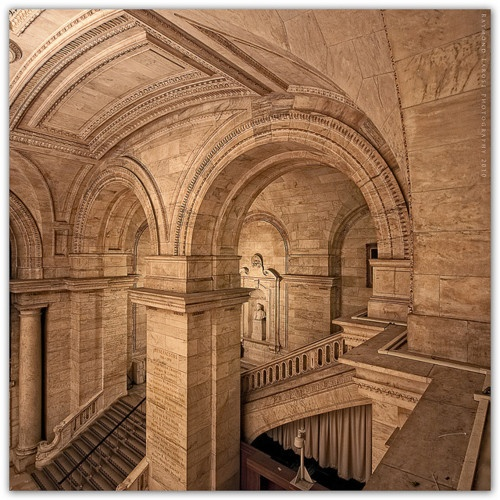 Inside the NYPL Stephen A. Schwarzman Building.   by Raymond Larose on Flickr, via mrholle on Tumblr.