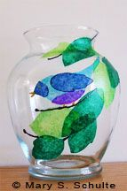 Learn how to paint glass with our easy tips and ideas, even if you don't think you're an artist. Get great results, either simple or fancy. Try wine glasses, vases, jars, anything! Perfect for gifts.