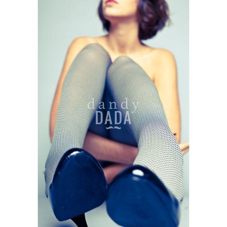 #Sitting Corinne by Alberto Fanelli on dandyDADA  #fotografia #ritratto #donna #scarpe #calze #gambe #nudoartistico #collezione #fineart #art #modella