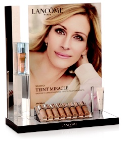 Lancome POP display