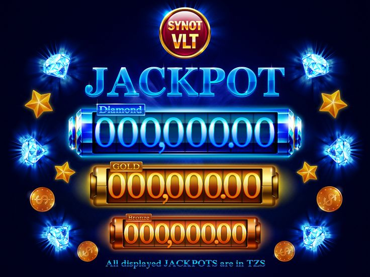 Jackpot screens on Behance