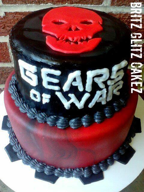 Gears of war cake!