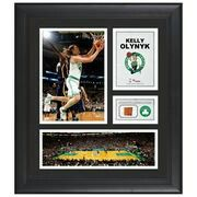 "Boston Celtics Kelly Olynyk Fanatics Authentic Framed 15"" x 17"" Collage with Team-Used Ball"