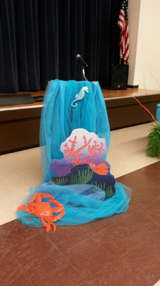 Podium Decorations | AWARDS & APPRECIATION-Under the Sea ...
