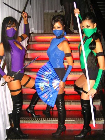 Mortal Combat Girls