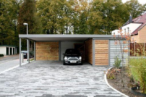 Gardenplaza - ... denn ein Carport schützt vor all dem – und vor Sonnenschein - Heute kann es regnen, stürmen oder schneien, ...
