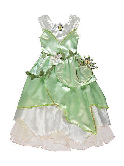 Disney Princess Tiana Fancy Dress Costume | Kids | George at ASDA