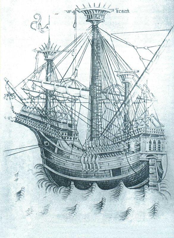 Парусные корабли XV века - Весло и Парус