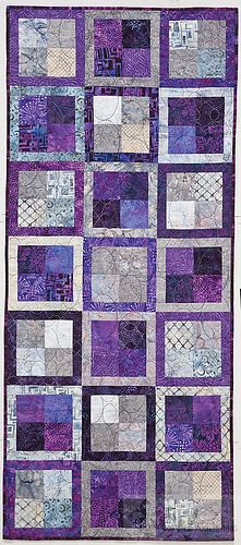 I love this color scheme & layout!  ~Bright & Bold Cozy Modern Quilts