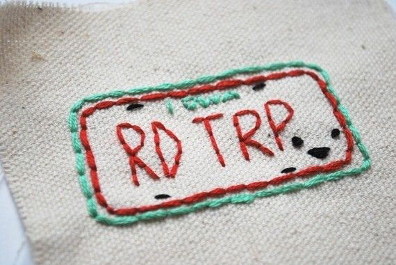 Pack your bags and buckle your seat belt...its time to hit the road with the Road Trippers!    The Road Trippers embroidery pattern includes: