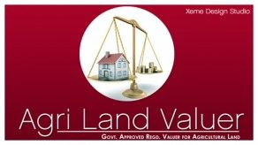 Logo Design for AgriLandValuer. Land valuation company