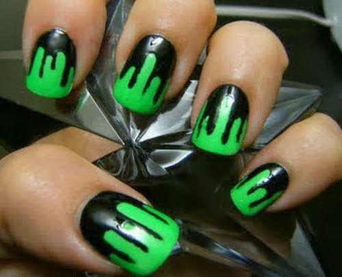 30 Terroríficos diseños de uñas que debes intentar éste Halloween ⋮ Es la moda