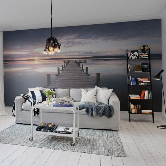Rebel Walls foto behang interiors wallpaper behang woonkamer behang slaapkamer #trendy #interieurtrends pier