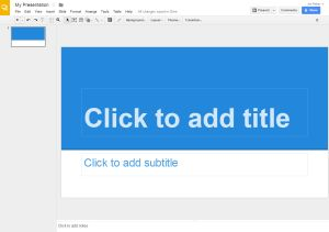 Skip the Download and Create Your Next Presentation Online for Free: Google Slides