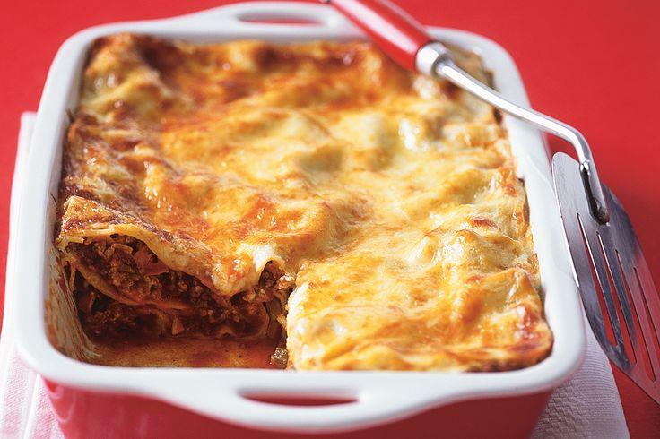 Beef lasagne (Use beef ragu recipe)