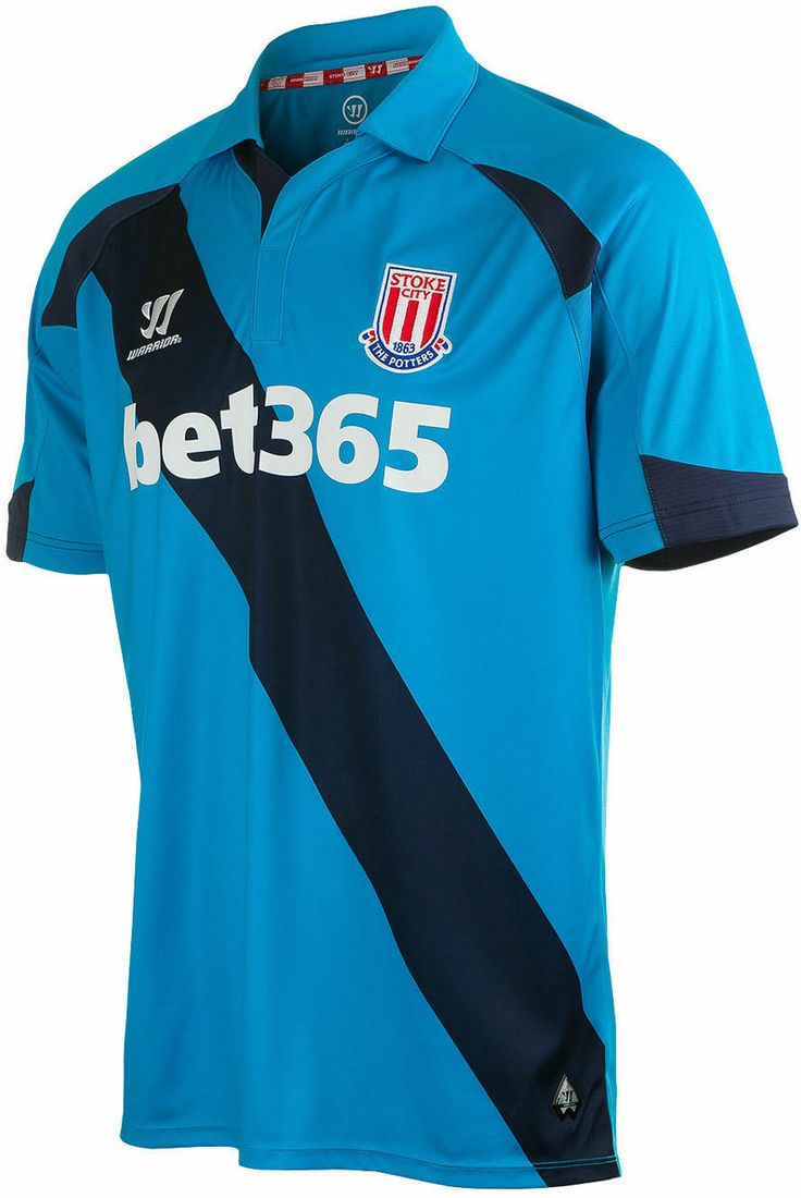 Stoke City FC (England) - 2014/2015 Warrior Away Shirt