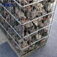 Garden decorative design galvanized welded gabion stone box stone retaining wall for sale