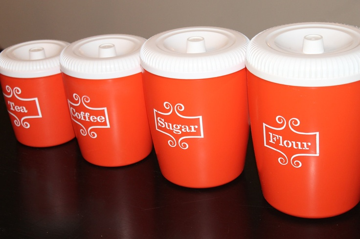 56 best colour at home orange images on pinterest for Kitchen set orange