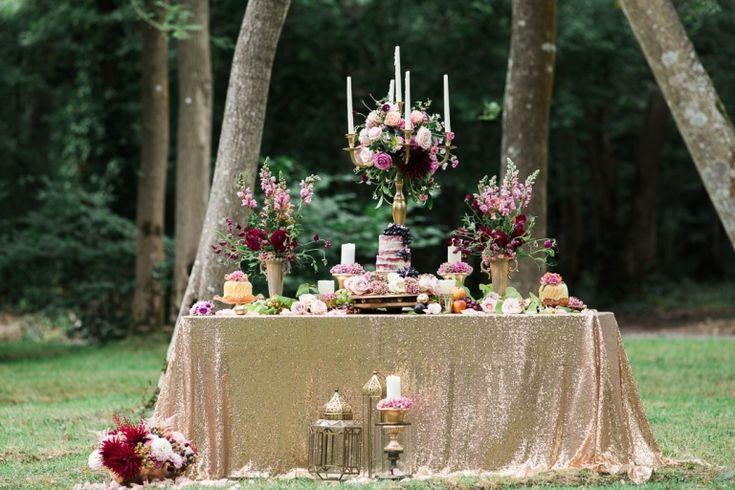 woodland wedding table scene at Marwell Hotel wedding inspiration by Jenny Owens Photography