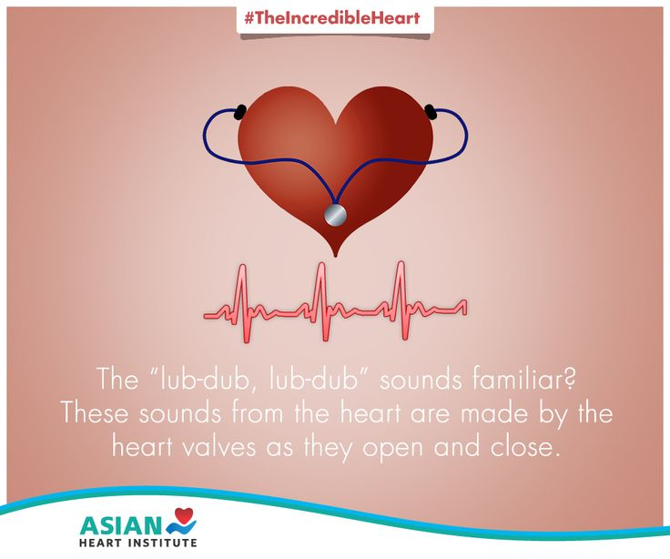 Here's the answer to the thumping sound of your heartbeat. #TheIncredibleHeart #AsianHeartInstitute #Heart