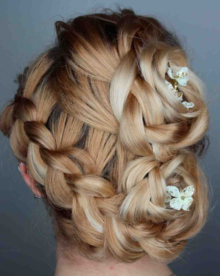 Bridal Braids: 17 Best Images About Wedding Updo Hairstyles On Pinterest